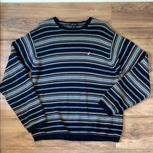 Men's Nautica Striped Sweater XXL